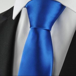 Other - ☀️3/$25☀️100% silk Royal Blue tie